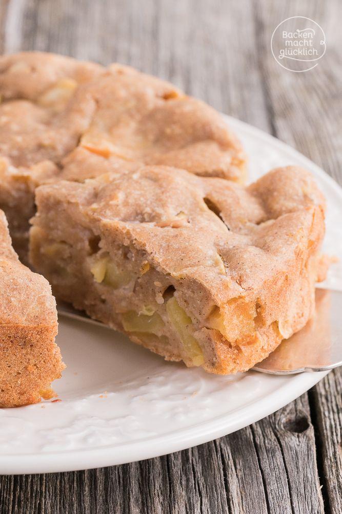 Apfelkuchen Ohne Zucker Butter Ei Rezept Backenmachtglucklich