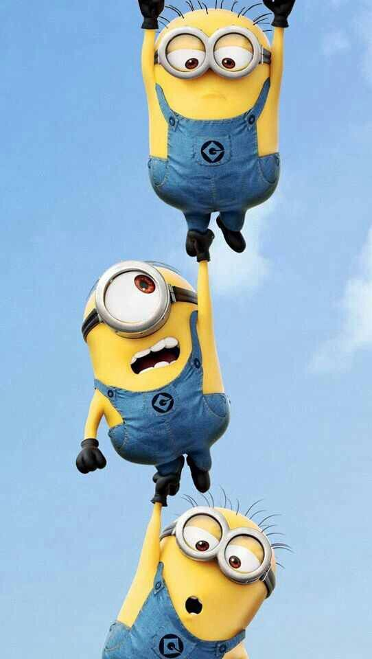 Minions Hang In There Minions Sillies Cuteness Whatnots
