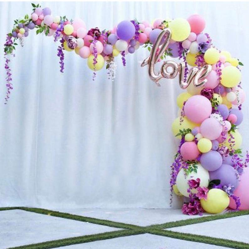 Purple Balloons Garland Kit Wedding Birthday Baby Shower