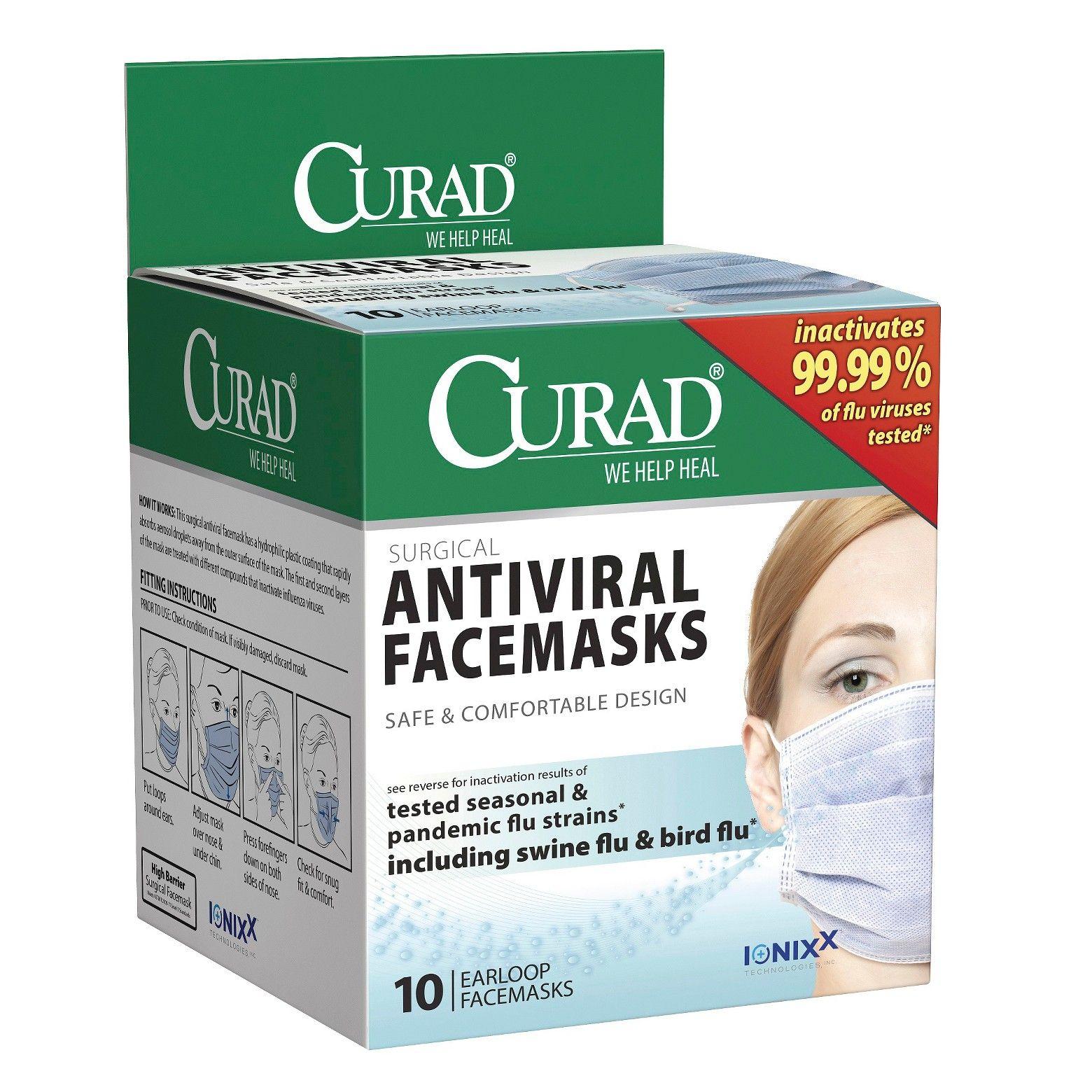 surgical antiviral mask