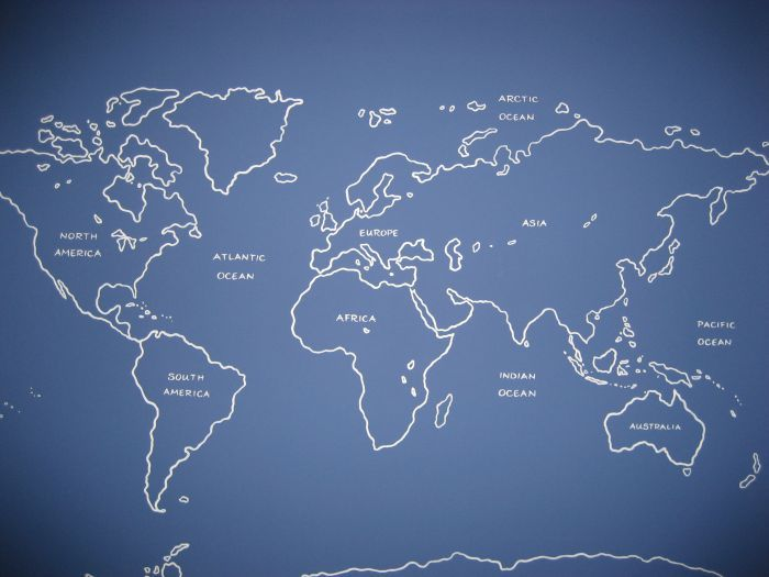 Map of the world mural as a line drawn painting mural idea in map of the world mural as a line drawn painting mural idea in neighborhood finds pinterest gumiabroncs Images
