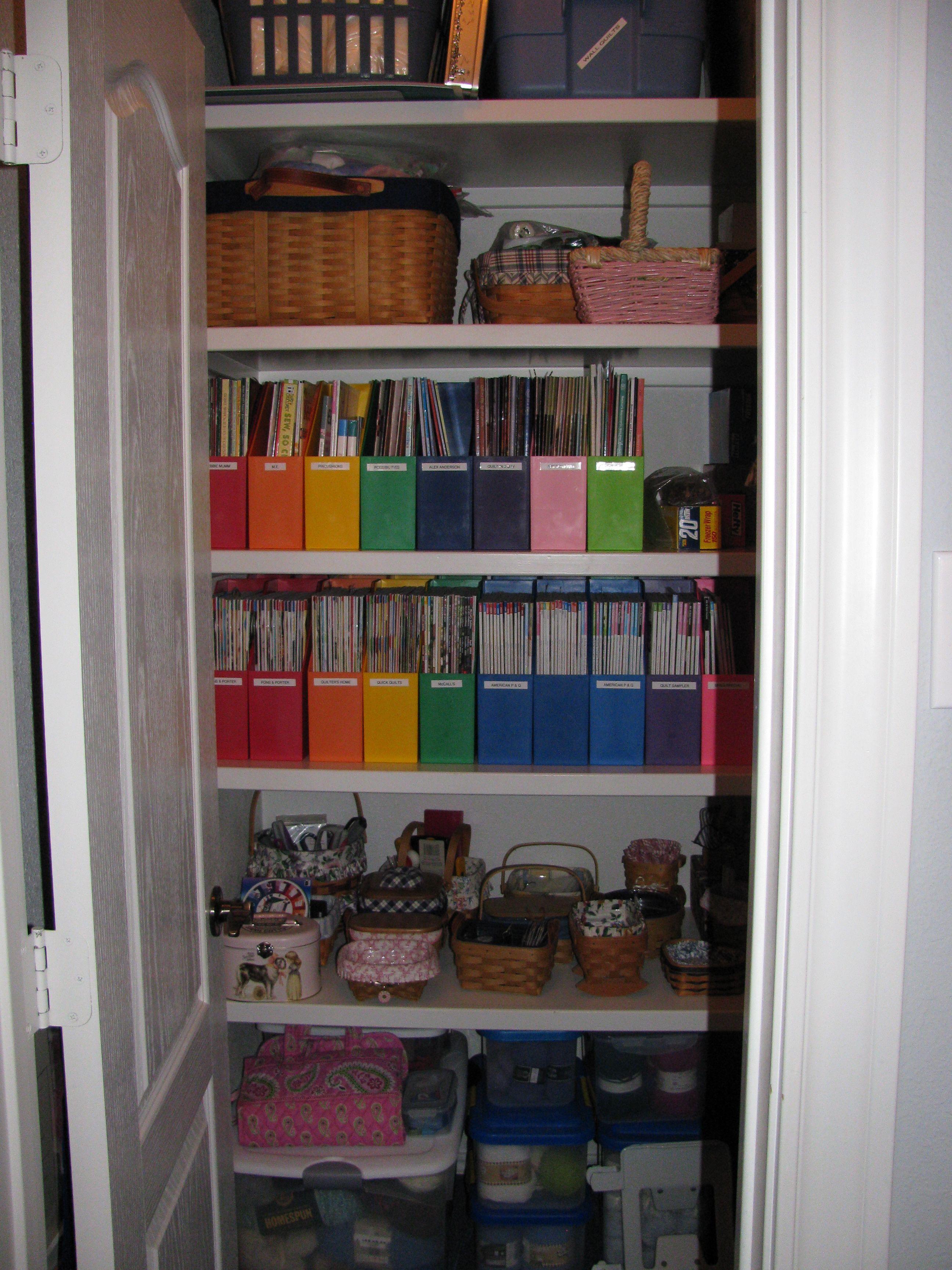 Magazine Storage Ideas Quilt Magazine Storage Decor Ideas Art Studio Magazine Storage Storage Decorative Storage