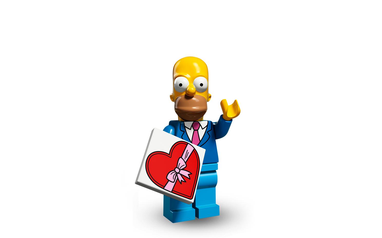 LEGO® Minifiguren 71009 Simpsons Serie 2 Homer Simpson