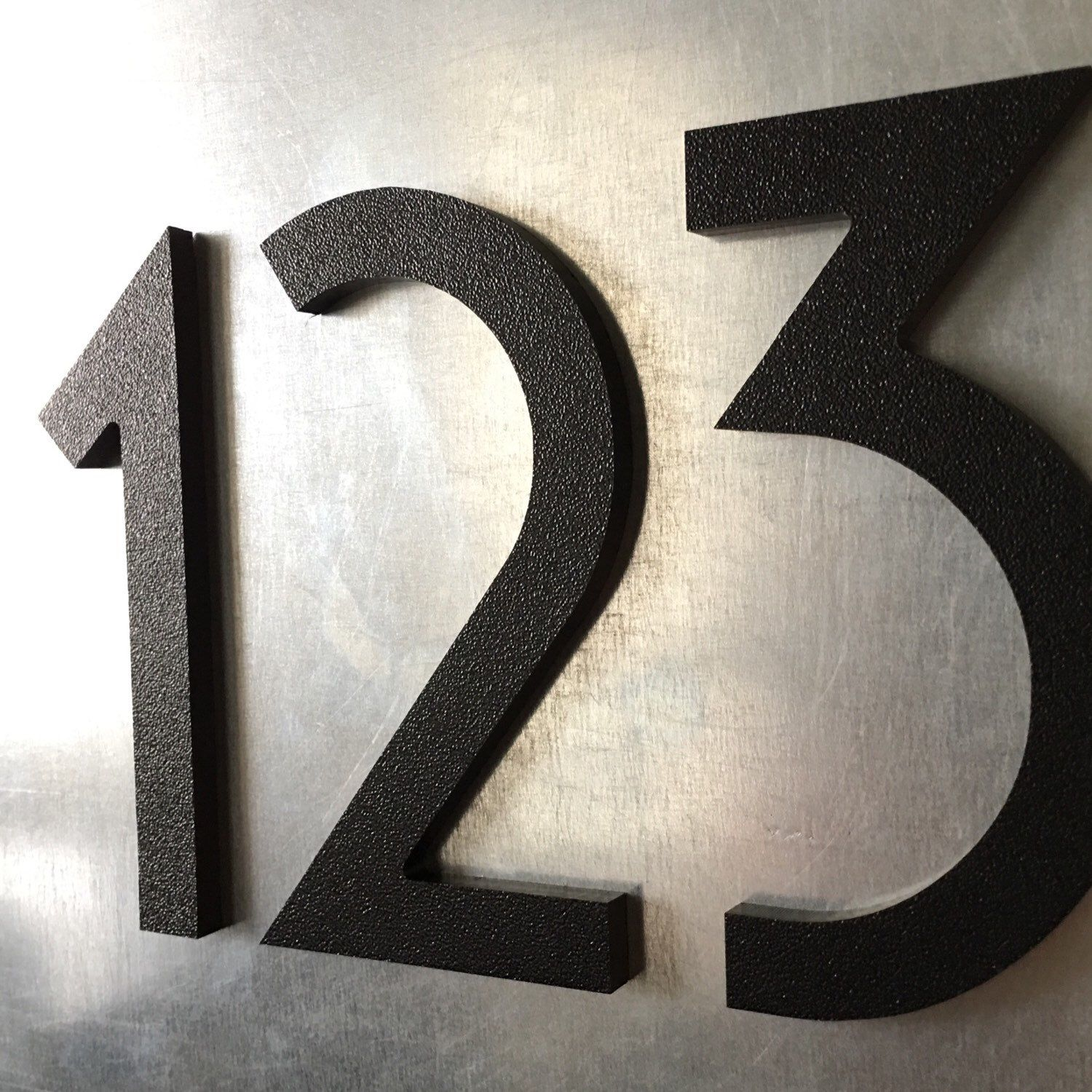 We Now Offer Magnetic Art Deco House Numbers In 4 Inch 5 Inch And 6 Sizes Check Them Out Perfect For Magnetic Doors Mailbox Art Deco Home Art Deco Numbers