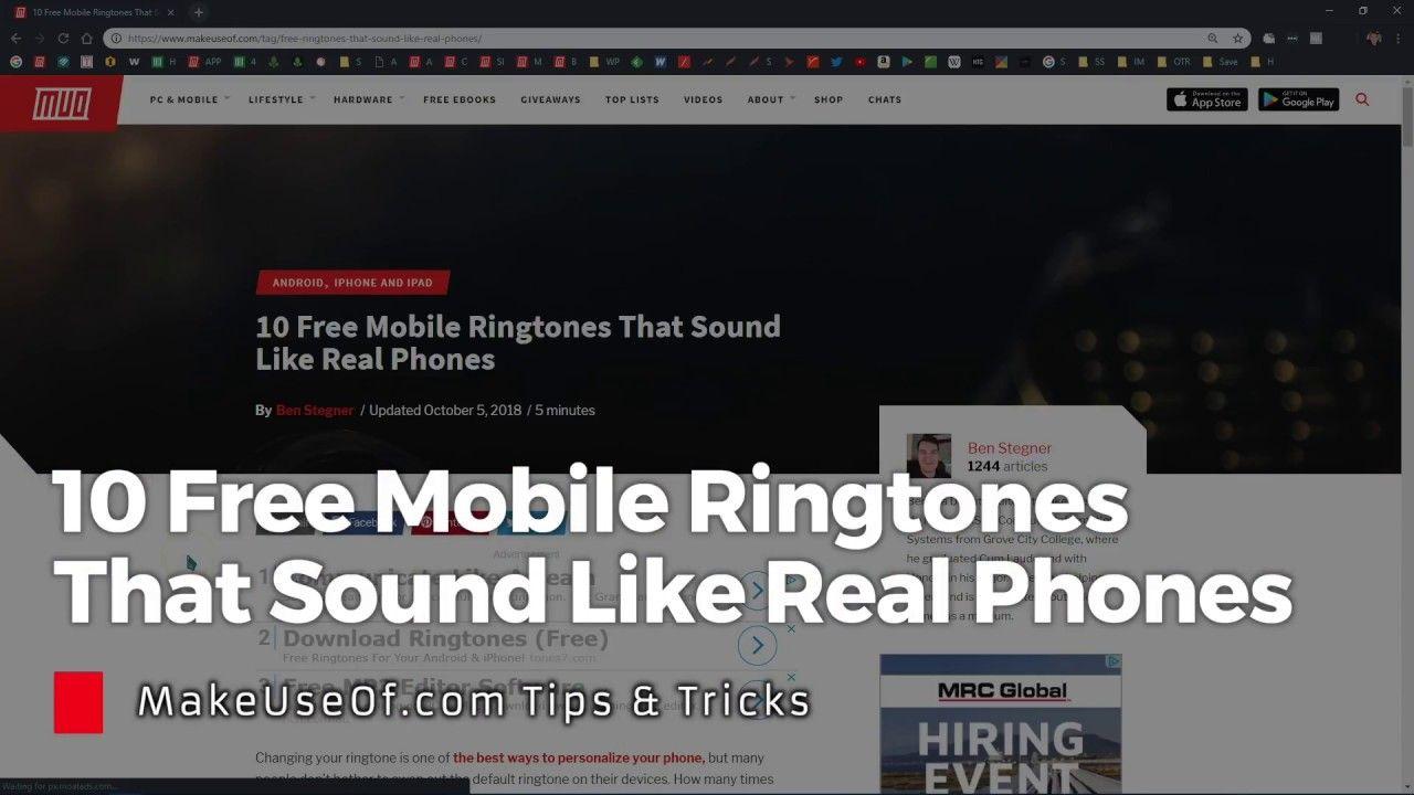 how to make a tiktok sound your ringtone on samsung