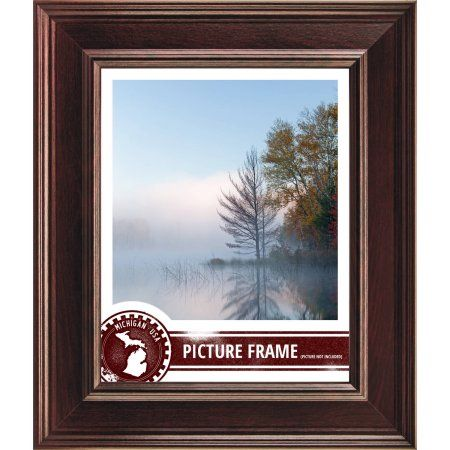 Craig Frames Contemporary Mahogany Red Picture Frame Brown Red