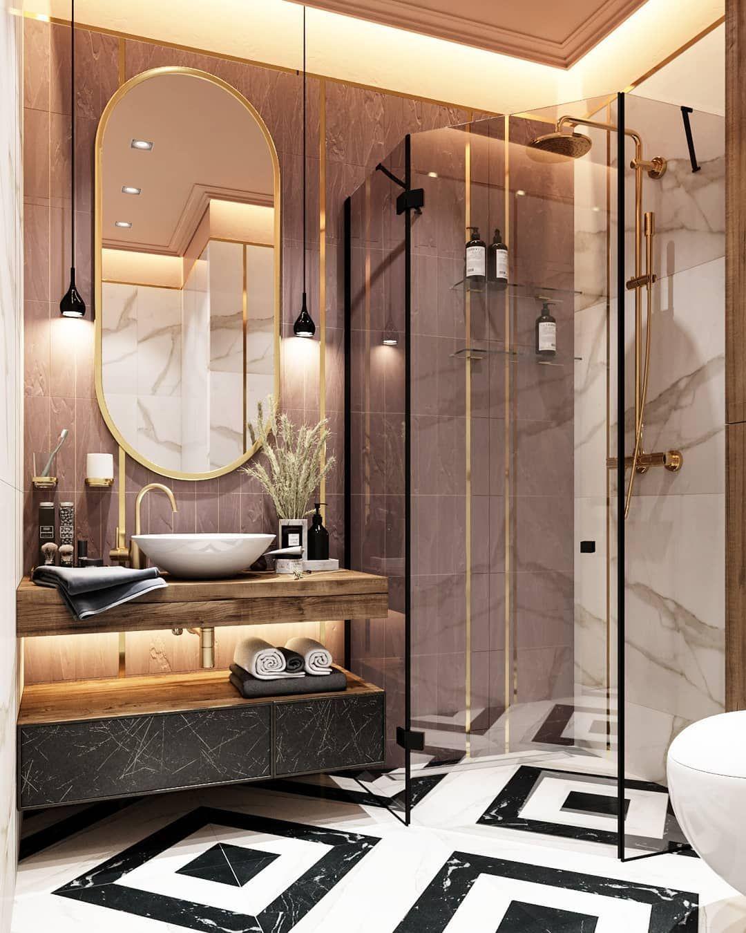 Studiya Dizajna Dd Designdd On Instagram Bogatyj I Sochnyj Sanuzel V Zhk Vavilove Pl In 2020 Bathroom Design Decor Bathroom Interior Design Bathroom Design Luxury