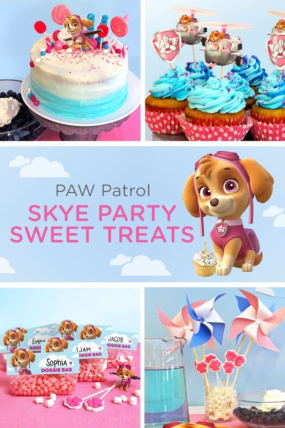 Throw a Skye Birthday Celebration! - Skye paw patrol party, Skye birthday party, Paw patrol birthday, Paw birthday, Paw patrol birthday party, Birthday - Your child wants a Skyethemed birthday, which means you'll be the one flying this party plane  Don't stress! With Nickelodeon Parents as your copilot, y