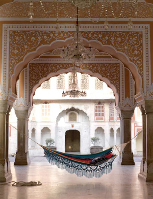 anthropologie advertorial shot in the red fort palace in Jaipur - one of my favourite places I have ever visited