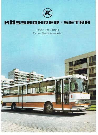 #1979 SETRA #S130S, #SG180S-SL  #BUS #Busworld #SETRA ( #1911 #Karl #Kässbohrer #Fahrzeugwerke #GmBH) #Daimler_AG #DE