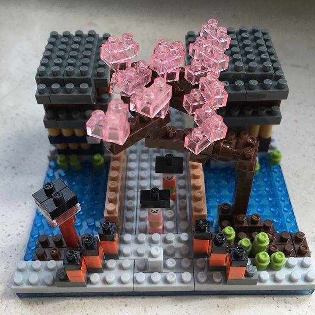 這個是 Bic Limited edition 的 Nanoblock! 京都祇園の花見小路 多謝 Aman & Ally…