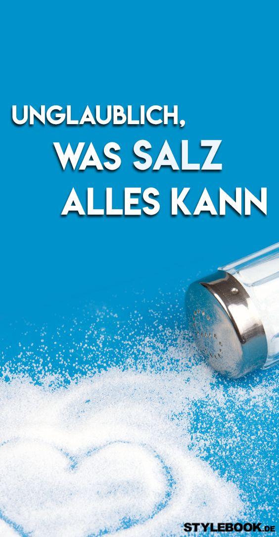 Farbe Fixieren Mit Salz : salz l sst augenringe verschwinden und 7 weitere geniale ~ Watch28wear.com Haus und Dekorationen