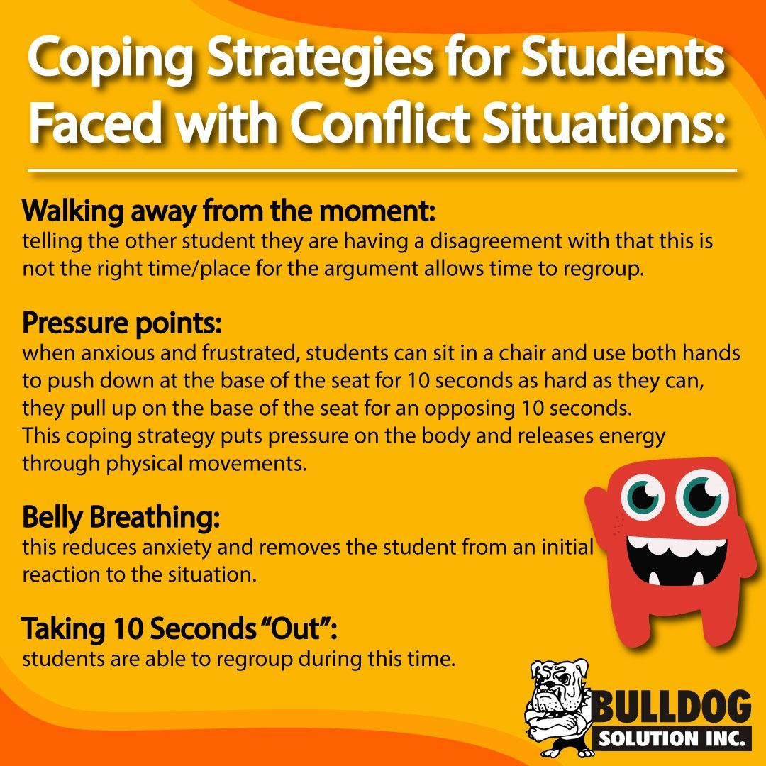 Coping Strategies For Conflicts