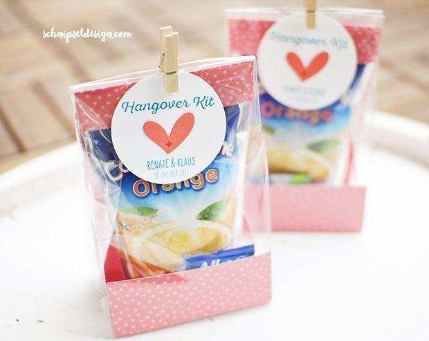 Hangover Kits – Gastgeschenke (schnipseldesign)