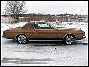 1977 Chrysler Cordoba  $9,500