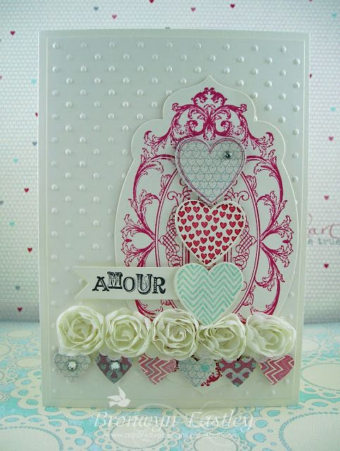 Stampin' Up! Valentine  by Bronwyn Eastley at addINKtive designs: Hearts a Flutter