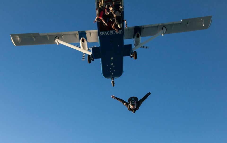 Went With My Youngest Son Almost 20 Yrs Ago Awesome Experience Paragliding Fighter Jets Skydiving