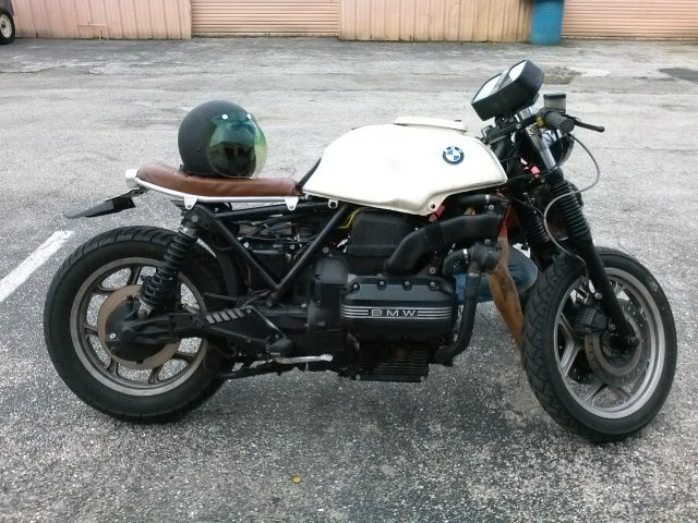rocketgarage cafe racer: bmw k 100 rs 16v | bmw k special