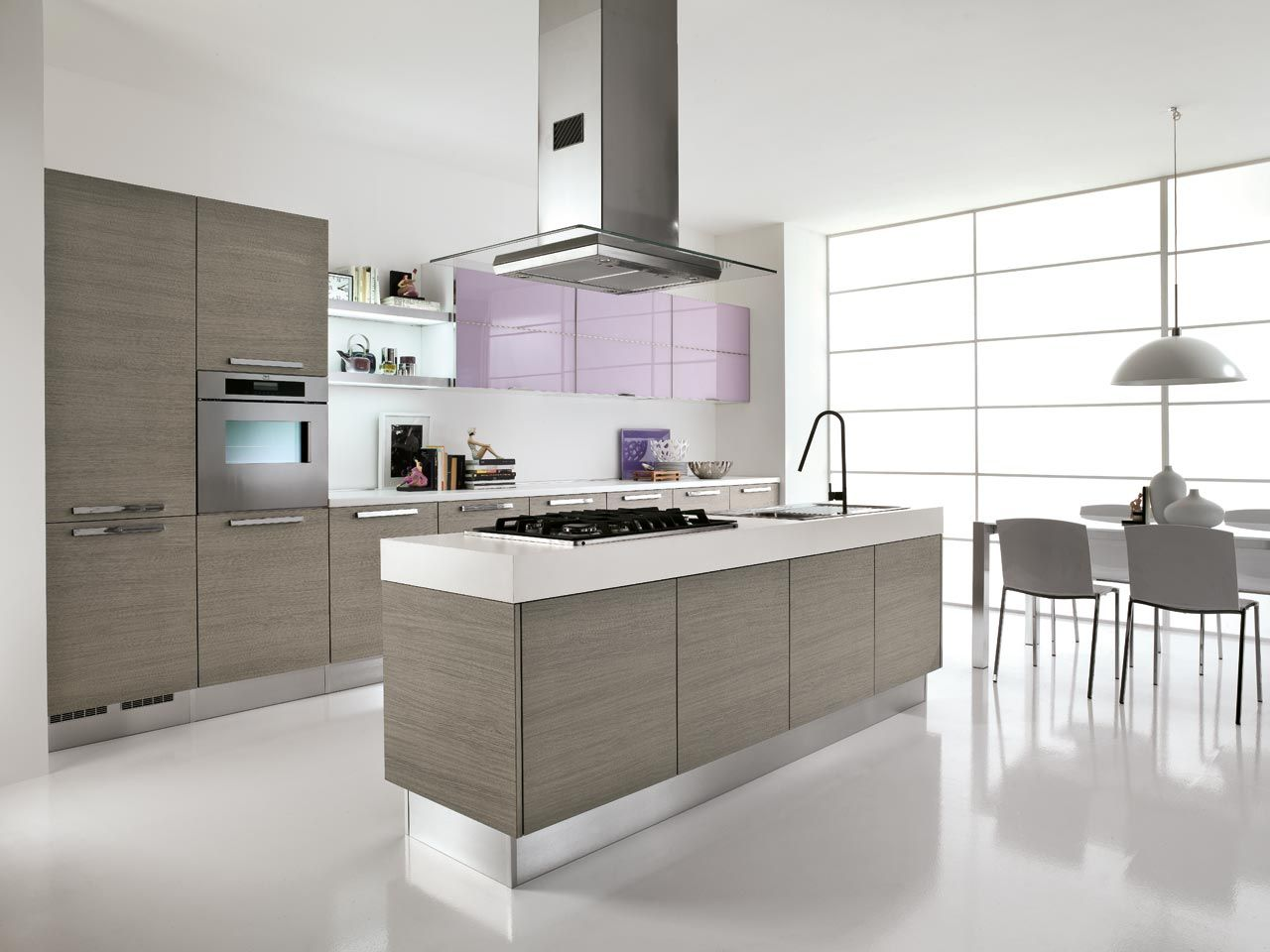 Alessia - Kitchens - Cucine Lube | Could LIVE like this. | Pinterest ...