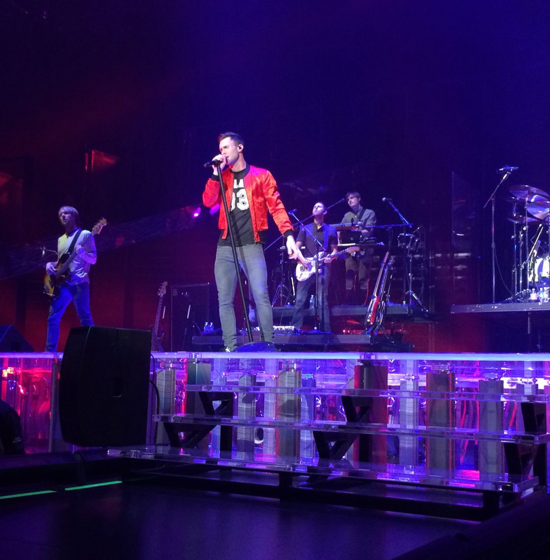 Adam, Jesse, Sam & Mickey Atlanta 2-19-15 #Vtour @OfficialMaroon5