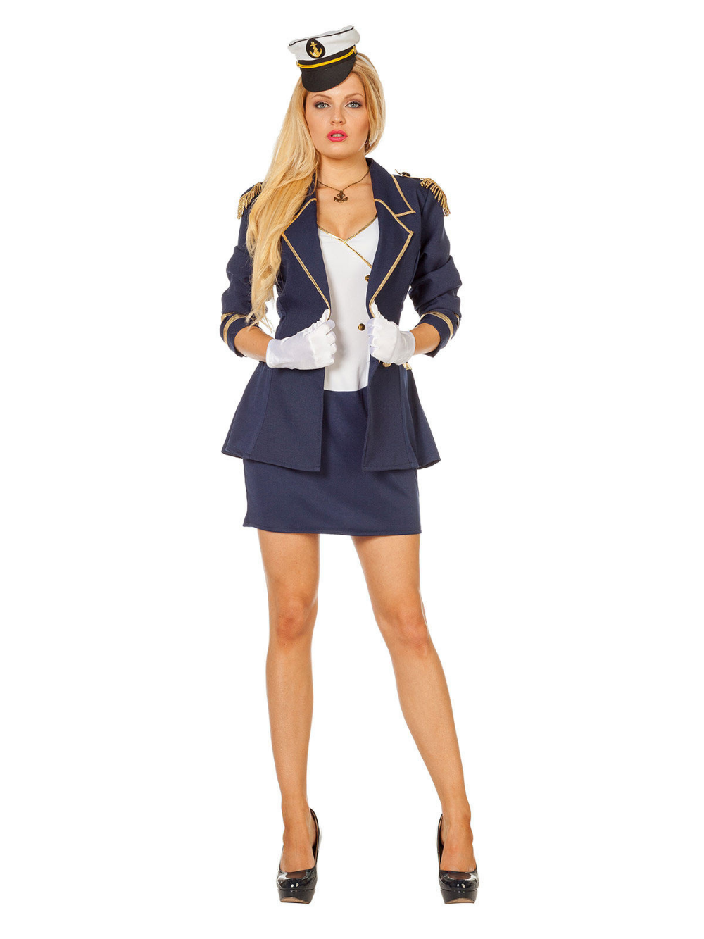 2019 DamenKostümideen Kostüm In Kostüme Marineoffizier nw0kXP8O