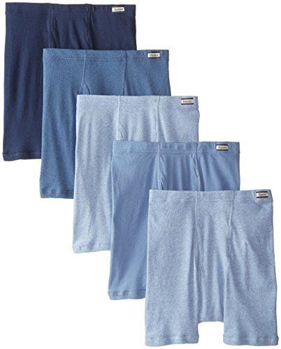 909274949739 Hanes Men's 5-Pack Comfort Soft Boxer Briefs, Assorted, Medium ...