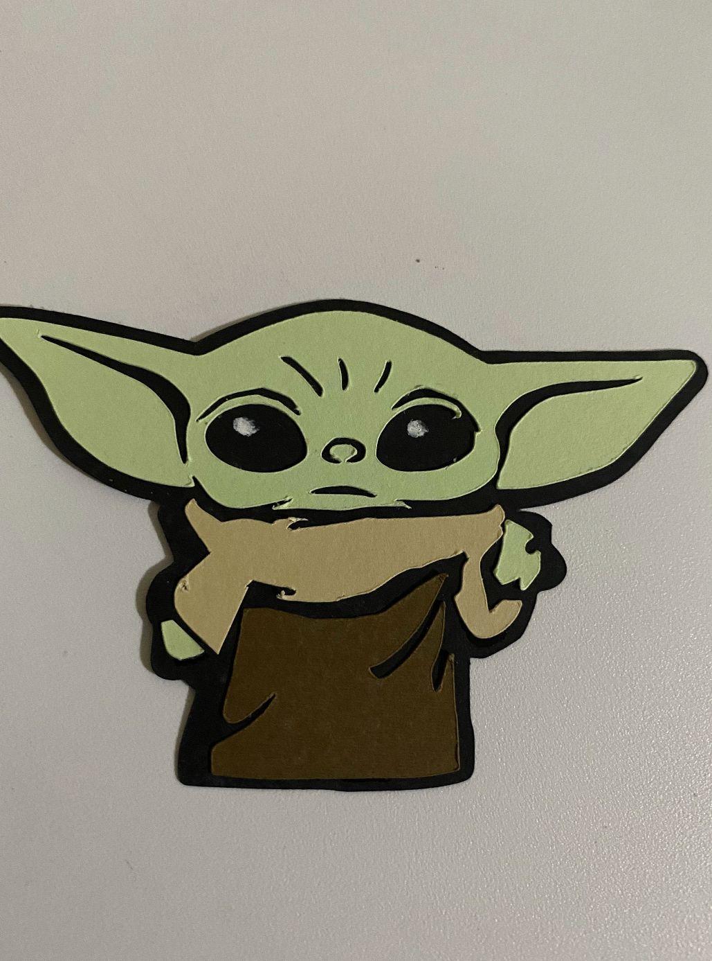 Baby Yoda Decor Yoda Wallpaper Yoda Party Yoda Sticker