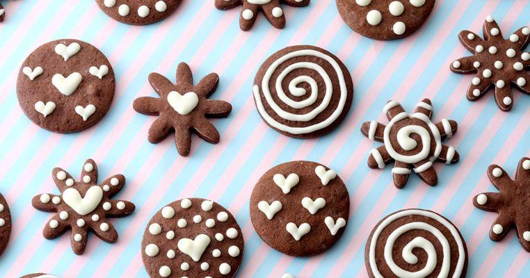 デコクッキー レシピサイト Nadia ナディア プロの料理を無料で検索 クッキー チョコペン お菓子作り 友チョコ