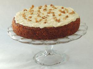 mrkvový koláč, ňam