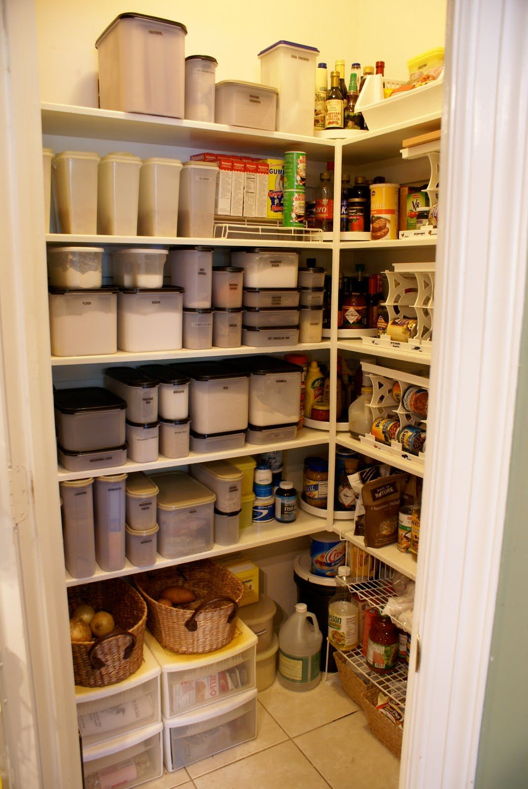 Pantry+Organization+Ideas | When The Door Is Opened This Is What You Will