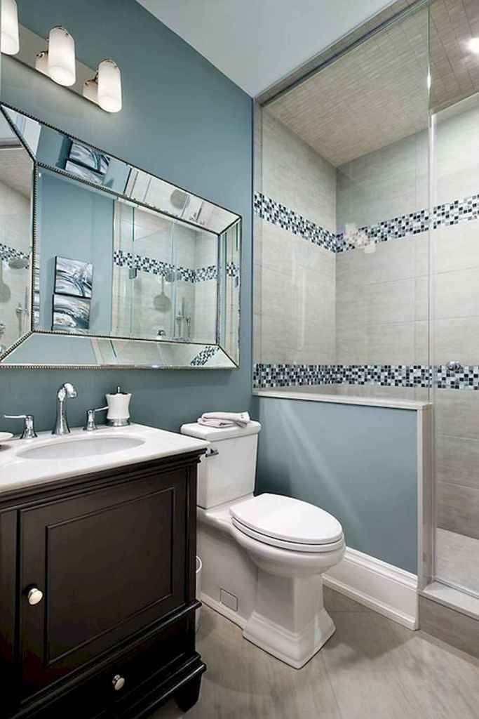 50 Stunning Small Bathroom Makeover Ideas 41 Bathroom Remodel Master Guest Bathroom Remodel Small Bathroom Remodel