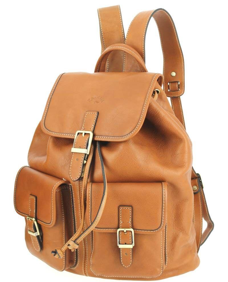 422fb0019d0a Backpacks · Purses · Sac à dos KATANA cuir de vachette camel Katana