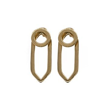 My design inspiration: Geo Circle Earring Jackets on Fab.