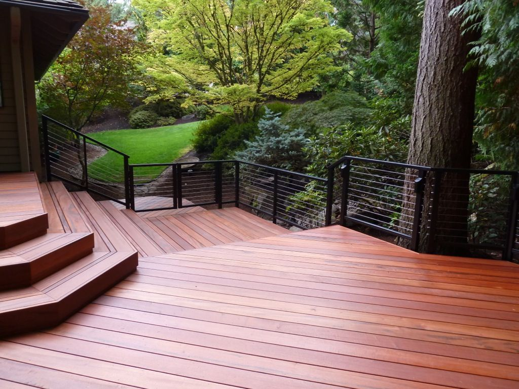 Residential Cable Railing, Cable Deck Railing (With images