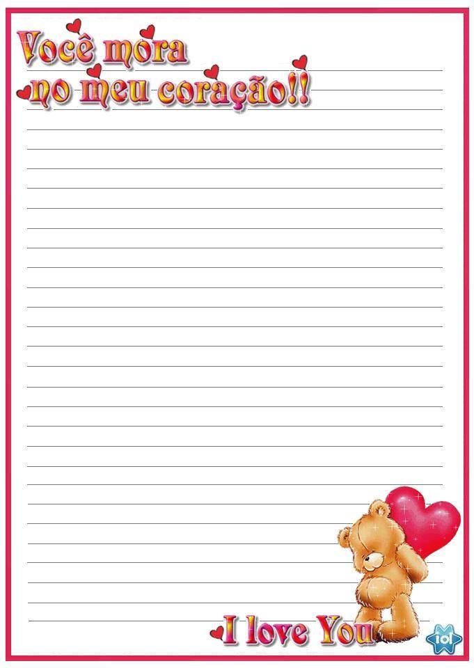 Veja aqui os melhores papel de cartas de amor pra você Salvar e