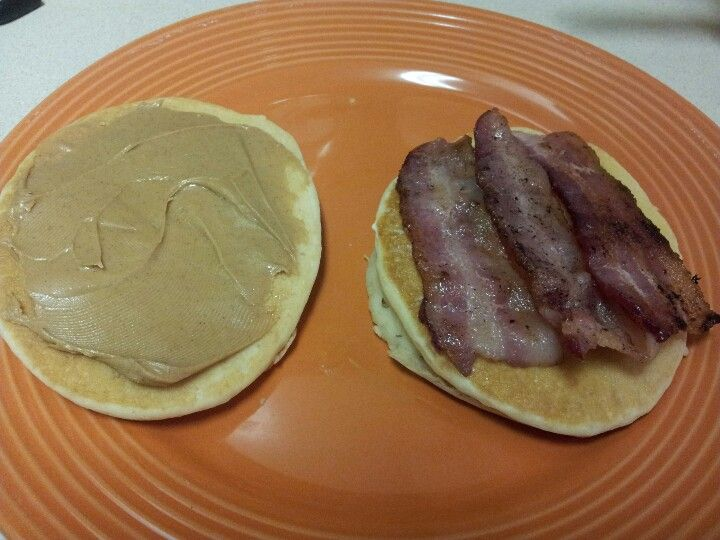 Bacon, Egg, and Cheese Pancake sandwich (LOW CARB) | ABS ...  |Bacon Pancakes Sandwich