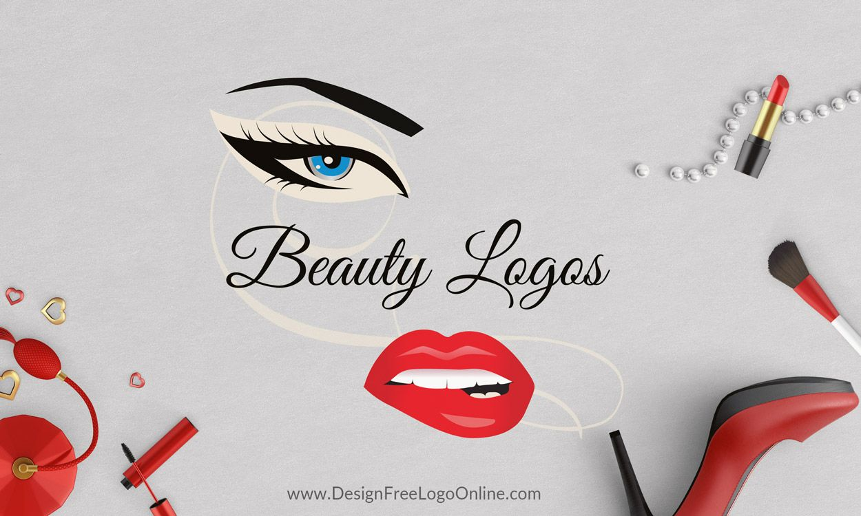 Beauty Logo Design Ideas Eyelash Logos Makeup Logo Maker Eyelash Logo Beauty Logo Design Makeup Logo Design