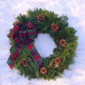 Christmas wreath! My favorite!