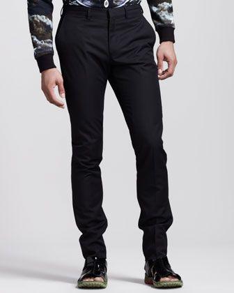 Givenchy Piped Slim Pants - Bergdorf Goodman