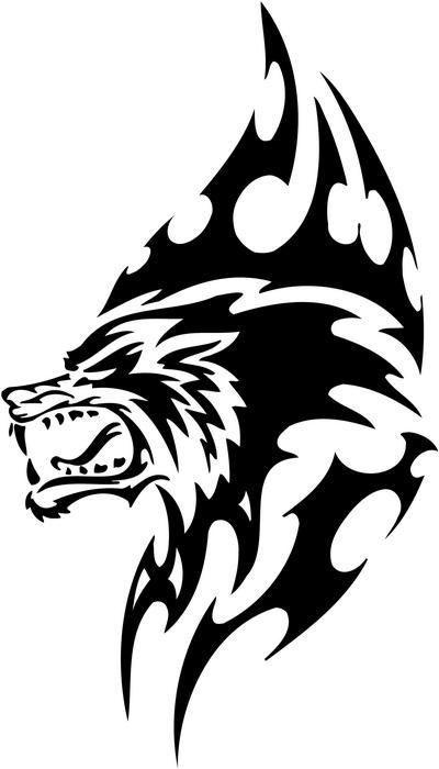 Tribal Werewolf Tribal Drawings Tribal Wolf Tattoo Fantasy Tattoos