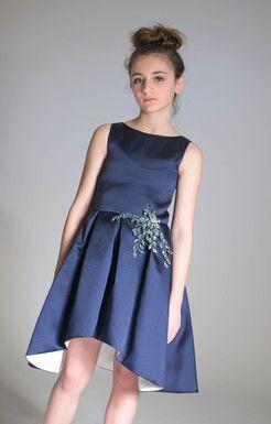 Navy Bat Mitzvah Dresses