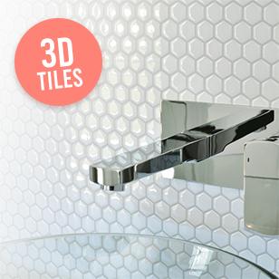 Hexago Tiles 4 Pack In 2020 Vinyl Tiles Self Adhesive Wall Tiles Tiles