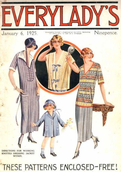 1920 S Family Fashion Magazine History Of Fashion