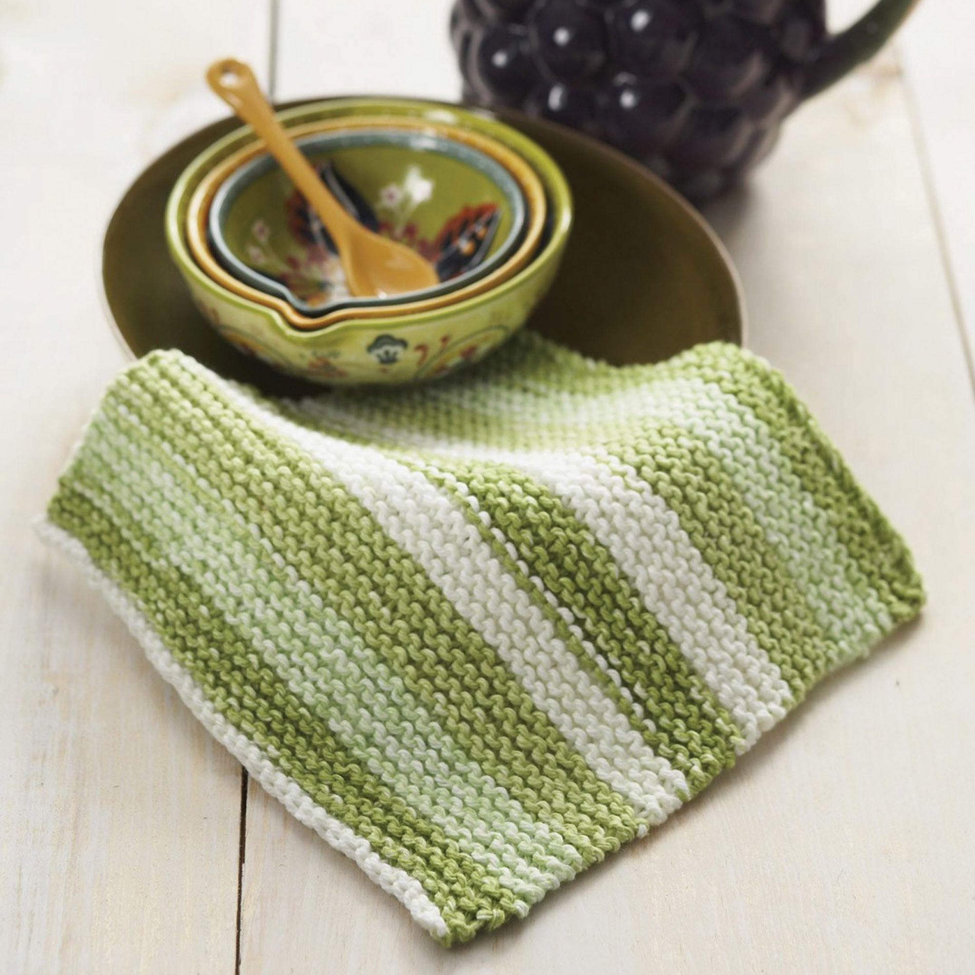 f400e87ace7 FREE Knitting Pattern. Lily Sugar  n Cream Basic Dishcloth Pattern ...