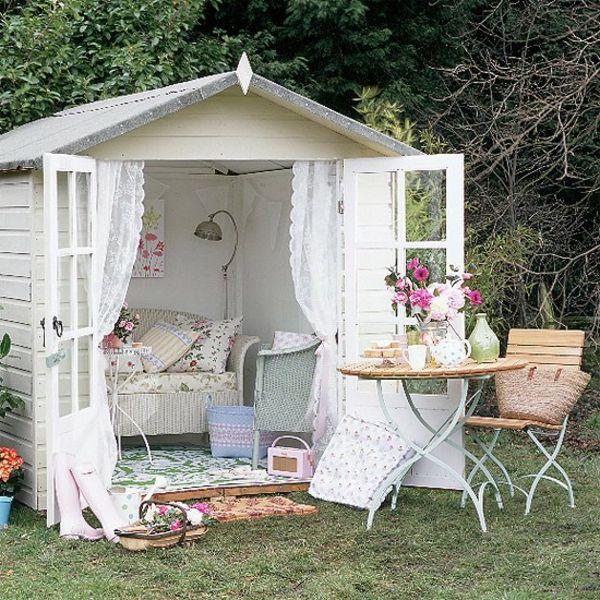 Les meubles vintages comme un accent romantique | Pinterest | Abris ...