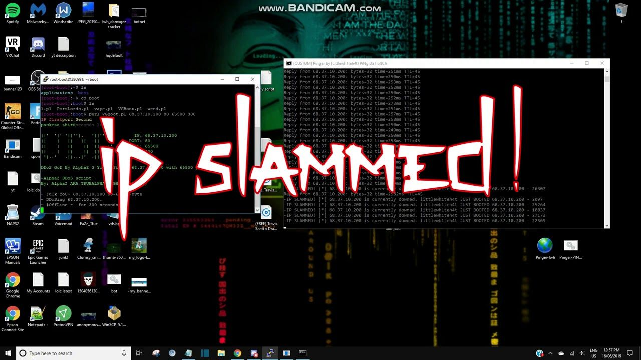 VPS BOOTER perl python ddos scripts FREE DOWNLOAD SLAMS