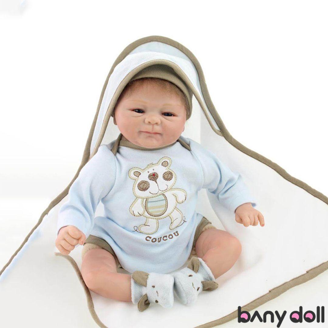 "16/"" Reborn Baby Dolls Real Life Vinyl Silicone Girl Newborn Doll Birthday Gift"