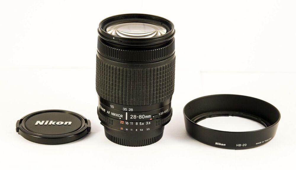 Nikon Af Nikkor 28 80 Mm 1 3 5 5 6 D Stuff To Buy Glassware Nikon