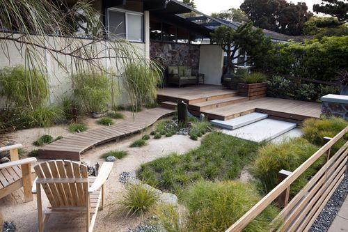 Pin By Sarah Jones On Cute Little Yard Landscape Design Front Yard Landscaping Backyard Beach