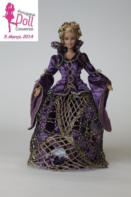 ines de castro   Barbie Inês de Castro – Augustus   Portuguese Doll Convention